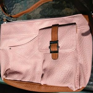 Rosetti peony pink crossbody shoulder bag
